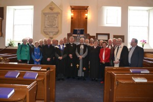 Induction at Muasdale, 21.9.13