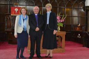 Tarbert with Rev Hilda Smith